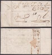 PORTUGAL DATE DE BILBAO 1680 VERS LILLE    (DE) DC-4141 - Marcophilie