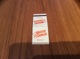 """Pochette D'allumettes ETATS UNIS """"Mister Donut """" - Boites D'allumettes"""
