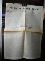 (G32) RICOSTRUZIONE BISETTIMANALE COMITATO PROVINCIALE DI LIBERAZIONE NAZIONALE CUNEO ANNO1 N° 7 11 GIUGNO 1945 - Riviste & Giornali
