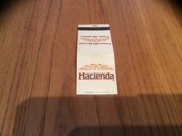"Pochette D'allumettes * ETATS UNIS ""MEXICAN RESTAURANT Hacienda "" - Boites D'allumettes"