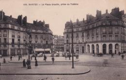 44 Nantes, La Place Graslin, Prise Du Théâtre - Nantes