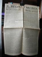 (G34) IL REGIME FASCISTA CREMONA NUOVA FARINACCI - 14 MARZO 1930 N° 63 ANNO IX - Riviste & Giornali