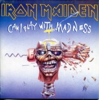 Iron Maiden 45t Vinyle Can I Play With Madness - Hard Rock & Metal