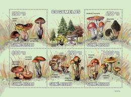 Guinea - Bissau 2010 - Mushrooms 5v Y&T 3237-3241, Michel 4623-4627 - Guinea-Bissau