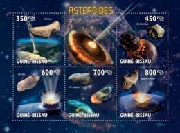 Guinea - Bissau 2010 - Asteroids 5v Y&T 3277-3281, Michel 4557-4561 - Guinea-Bissau