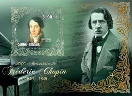 Guinea - Bissau 2010 - Frederick Chopin (1810-1849) S/s Y&T 516, Michel 4736/BL791 - Guinea-Bissau