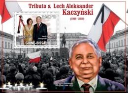 Guinea - Bissau 2010 - Tribute To Lech Alexander Kaczynski (1949-2010) S/s Y&T 519, Michel 4713/BL787 - Guinea-Bissau