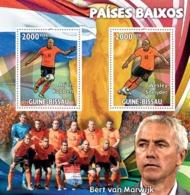 Guinea - Bissau 2010 - The Netherlands, Arjen Roben, Wesley Snejder 2v Y&T 3390-3391, Michel 4752-4753/BL795 - Guinea-Bissau