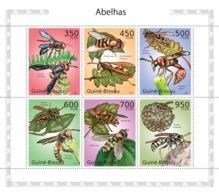 Guinea - Bissau 2010 - Wasps 6v Y&T 3469-3474, Michel 5057-5062 - Guinea-Bissau