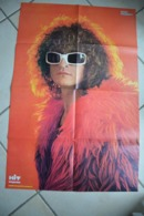 Grand Poster De HIT Magazine Supplement Au  N°2-Michel POLNAREFF-(86 Cm Par 57 Cm) - Affiches & Posters