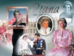 Guinea - Bissau 2010 - Diana- Princess Of Wales (1961-1997) S/s Y&T 602, Michel 5126/BL879 - Guinea-Bissau