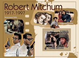 Guinea - Bissau 2010 - Actor, Cinema- Robert Michum (1917-1997) S/s Y&T 609, Michel 5199/BL891 - Guinea-Bissau