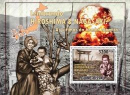 Guinea - Bissau 2010 - World War - Hiroshima-Nagasaki S/s Y&T 610, Michel 5221/BL895 - Guinea-Bissau