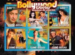 Guinea - Bissau 2010 - Cinema Of India - Bollywood 6v Y&T 3717-3722, Michel 5173-5178 - Guinée-Bissau
