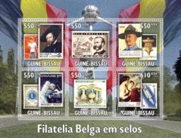 Guinea - Bissau 2010 - Belgium Stamps In Stamps 6v Y&T 3728-3733, Michel 5127-5132 - Guinea-Bissau