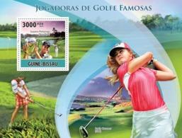 Guinea - Bissau 2010 - Famous Female Golf Players S/s Y&T 614, Michel 5119/BL878 - Guinée-Bissau