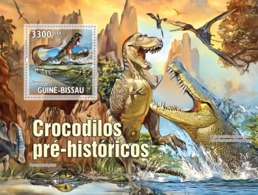 Guinea - Bissau 2010 - Evolution Of Crocodiles S/s Y&T 615, Michel 5216/BL894 - Guinea-Bissau