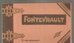 CPA FONTEVRAULT (49) Album De 12 Vues Détachables - France