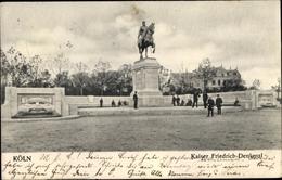 Cp Köln Am Rhein, Kaiser Friedrich Denkmal - Allemagne