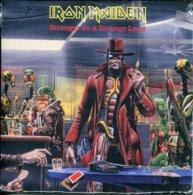 Iron Maiden 45t Vinyle Stranger In A Stange Land - Hard Rock & Metal