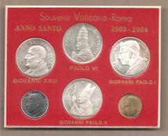 Vaticano - Anno Santo 1983-1984 - Carnet Souvenir Con 4 Medaglie E 2 Monete - Vaticano