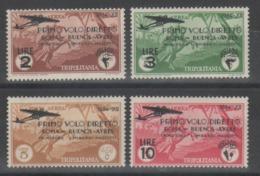 Tripolitania 1934 - Volo Roma - Buenos Aires *          (g5927) - Tripolitaine