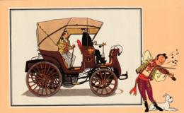 Chèque TINTIN - Voir Et Savoir Par HERGE - AUTOMOBILE - Série 3  N° 52 - Cars