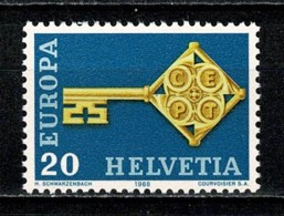 Helvetia 1968 EUROPA Yv. 806**,  MNH - Ungebraucht