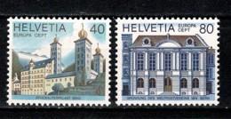 Helvetia 1978 EUROPA Yv. 1058/59**,  MNH - Switzerland