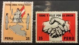 PERU - (0) - 1980 - 724/725 - Pérou