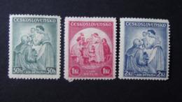 Czechoslovakia - 1936 - Mi:CS 342-4, Sn:CS B144-6, Yt:CS 303-5*MH - Look Scan - Nuovi