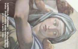 SCHEDA TELEFONICA USATA VATICANO SCV6 CAPPELLA SISTINA - Vaticano