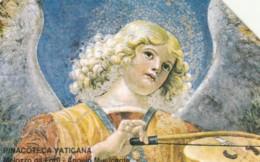 SCHEDA TELEFONICA USATA VATICANO SCV15 MELOZZO DA FORLI' ANGELO MUSICANTE - Vaticano