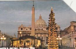 SCHEDA TELEFONICA USATA VATICANO SCV16 PIAZZA SAN PIETRO - Vaticaanstad