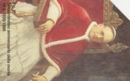 SCHEDA TELEFONICA USATA VATICANO SCV57 PIOXI 60 ANNIVERSARIO MORTE - Vaticano
