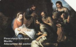SCHEDA TELEFONICA USATA VATICANO SCV37 ADORAZIONE DEI PASTORI - Vaticaanstad