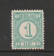 Cijfer 1894 Nr. 31a Postfris MNH  Cat.w. 20,- - Ongebruikt