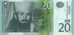 Serbie 20 Dinara (P47) 2013 -UNC- - Servië