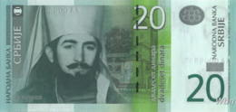 Serbie 20 Dinara (P47) 2013 -UNC- - Serbia