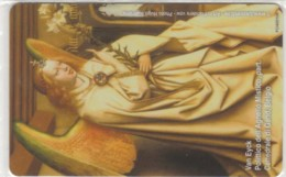 PHONE CARD VATICANO SCV222 POLITTICO DELL'AGNELLO (NEW BUT PRINTED WITHOUT BLISTER) - Vaticano