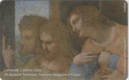 PHONE CARD VATICANO SCV212 LEONARDO ULTIMA CENA (NEW BUT PRINTED WITHOUT BLISTER) - Vaticano