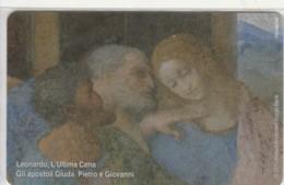PHONE CARD VATICANO SCV211 LEONARDO ULTIMA CENA (NEW BUT PRINTED WITHOUT BLISTER) - Vaticano