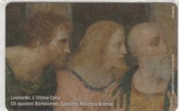 PHONE CARD VATICANO SCV210 LEONARDO ULTIMA CENA (NEW BUT PRINTED WITHOUT BLISTER) - Vaticano