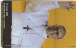 PHONE CARD VATICANO SCV202 PAPA FRANCESCO (NEW BUT PRINTED WITHOUT BLISTER) - Vaticano