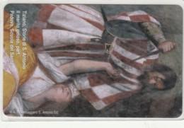 PHONE CARD VATICANO SCV201 TIZIANO STORIE S.ANTONIO - Vaticaanstad