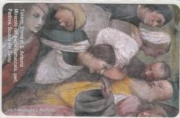 PHONE CARD VATICANO SCV201 TIZIANO STORIE S.ANTONIO - Vaticano