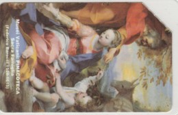PHONE CARD USED VATICANO SCV7 SACRA FAMIGLIA - Vaticaanstad