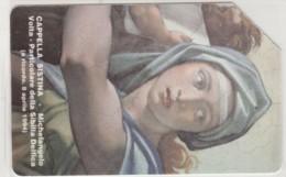PHONE CARD USED VATICANO SCV6 CAPPELLA SISTINA - Vaticano