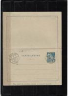 LCTD56- REUNION 2 EP CARTES LETTRE 15c +25c ACEP N° CL1/CL2 OBLITERES DE COMPLAISANCE - Réunion (1852-1975)