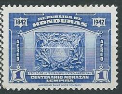 Honduras   - Aérien   -  Yvert N° 117 *     -  Ad 39027 - Honduras